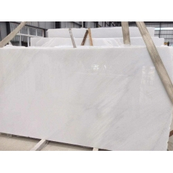 crystal white marble big slas