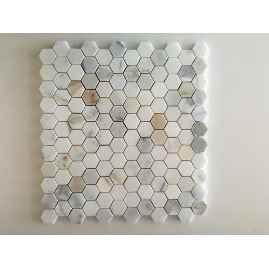 kaufen calacatta gold sechseck marmor mosaik fliesen calacatta gold sechseck marmor mosaik. Black Bedroom Furniture Sets. Home Design Ideas