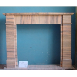 Home decoration marble fireplace surround