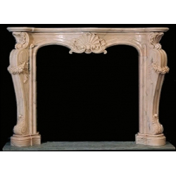 Competitive Price Marble Fireplace Mantel