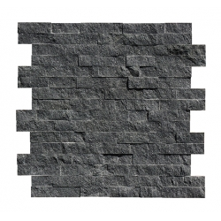 top RSC 2426 black marble cultural stone for wall for sale