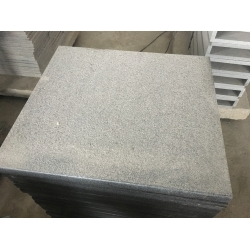 G654 granite flamed tile