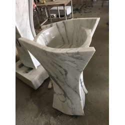 Special style marble sink for bathroom