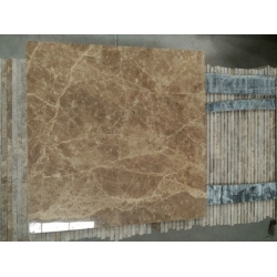 polished light emperador marble tile