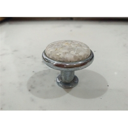 Kashmir White Stone handle for drawer & cabinet