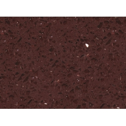 top RSC1816 Crystal Dark Red Quartz Surface for sale