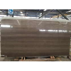 Coffee Wooden Marble Polished Big Slabs